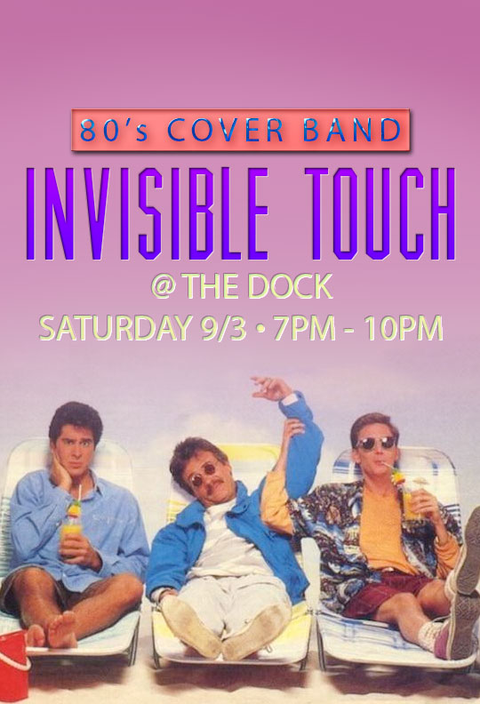 invisible touch at the dock